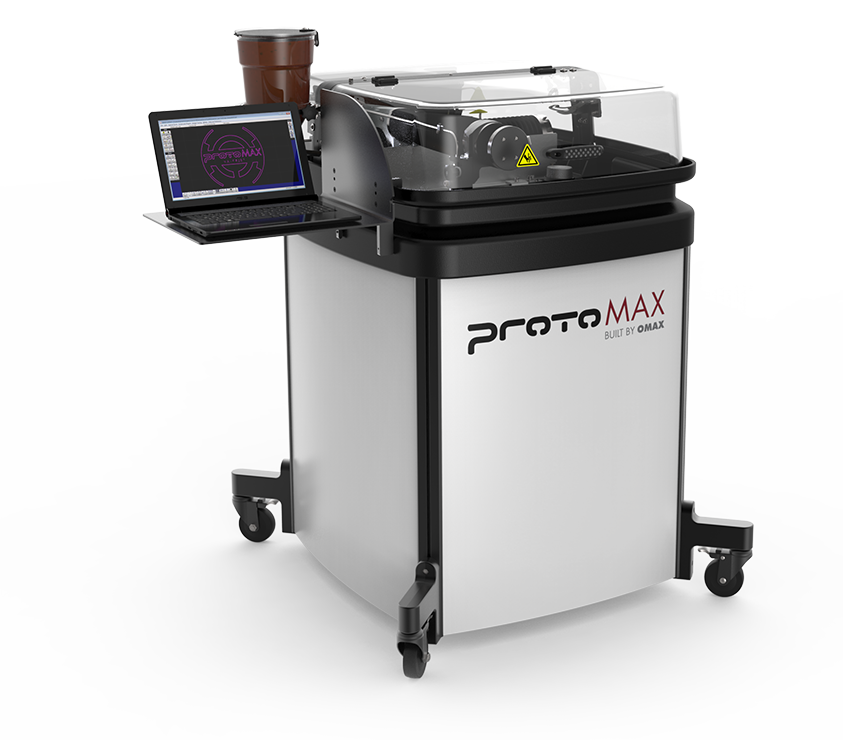 ProtoMAX - World's First high performance, personal abrasive waterjet